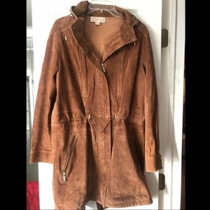 **Michael Kors real suede jacket**